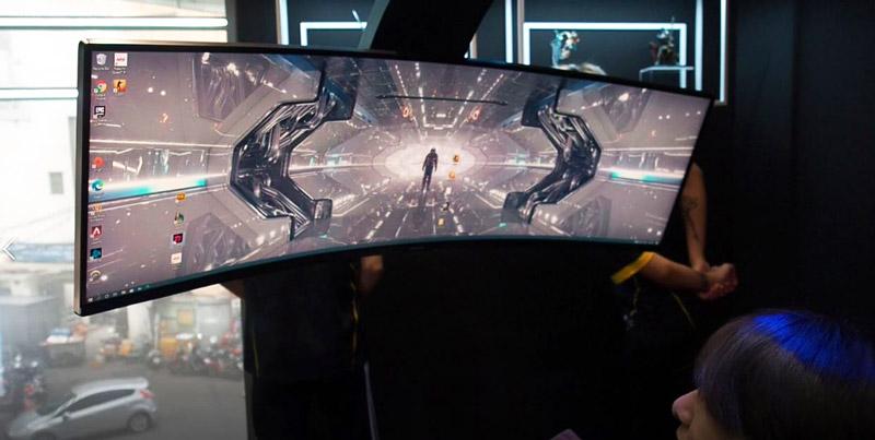 Dòng màn hình Odyssey mới của Samsung sở hữu độ cong hài hòa với tầm nhìn của game thủ